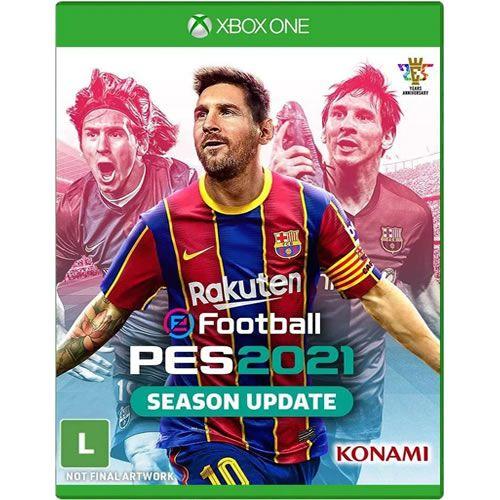 Game PES 2021 Season Update - Xbox One [Pré-venda]