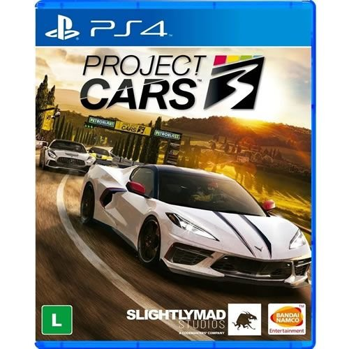 Game Project Cars 3 - PS4
