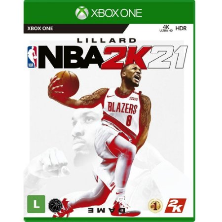 Game NBA 2K21 - Xbox One [Pré-venda]