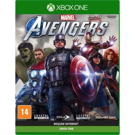 Game Marvel Avengers - Xbox One [Pré-venda]