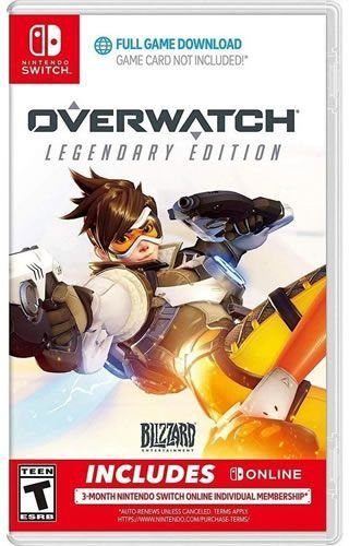 Game Overwatch Legendary Edition - Switch