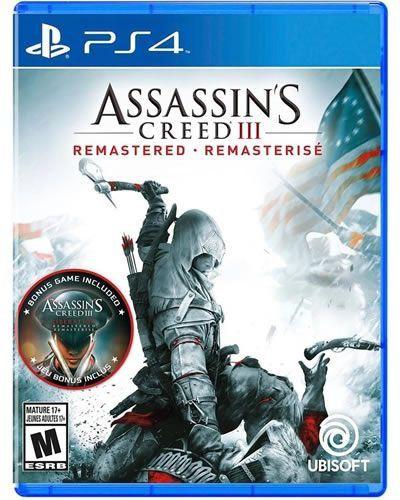 Game Assassin's Creed III Remasterizado - PS4