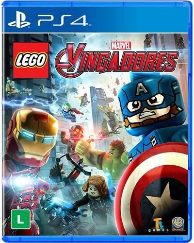 Game Lego Marvel Vingadores - PS4