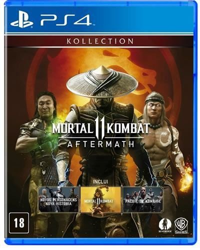 Game Mortal Kombat Aftermath - PS4