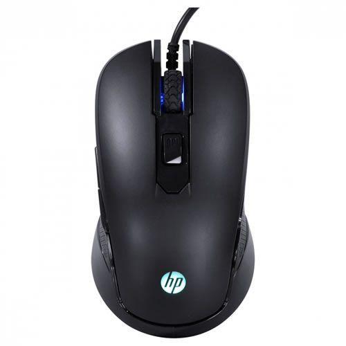 Mouse Gamer HP M200, 6 Botões, 2400DPI - Preto