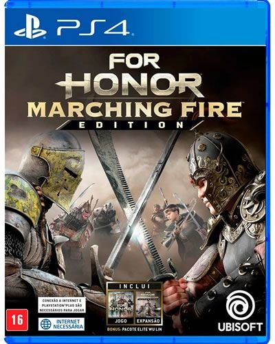 Game For Honor Marching Fire Edition - PS4