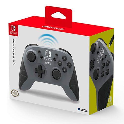 Controle Sem Fio Nintendo Switch Cinza - Hori