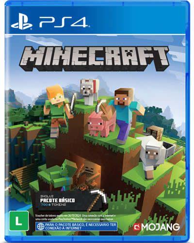 Game Minecraft Starter Edition - PS4