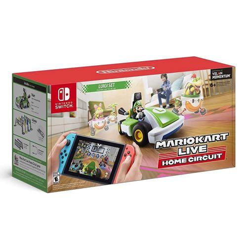 Game Mario Kart Live Home Circuit Luigi Set - Switch