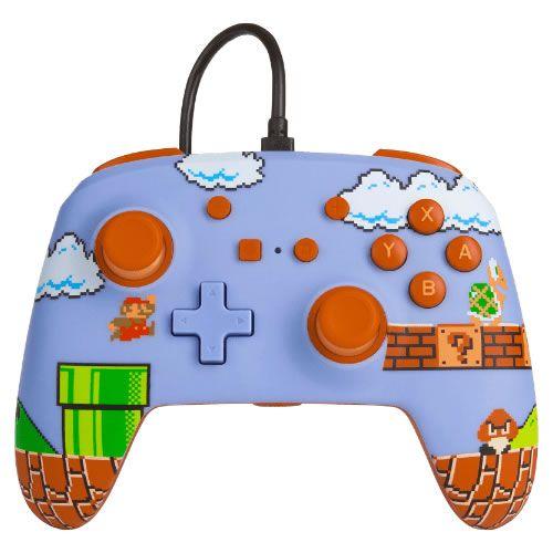 Controle Com Fio PowerA Super Mario Bros - Switch