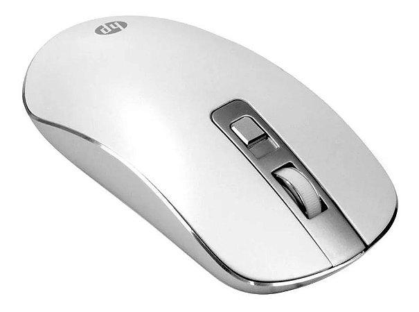 Mouse Hp Silencioso E Sem Fio S4000 Branco 1600dpi - 4ne23pa