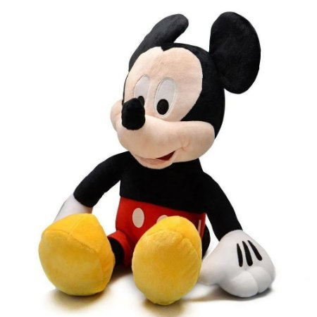 Pelúcia Disney Mickey 40cm Com Som - Licenciado Disney - Multikids Br332