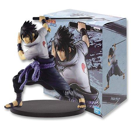 Action Figure Naruto Shippuden – Uchiha Sasuke II – Vibration Stars - Bandai Banpresto