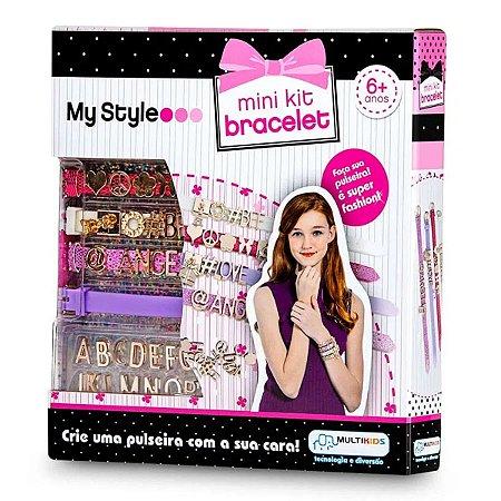Kit De Pulseiras My Style Mini Kit Bracelete - Multikids Br100