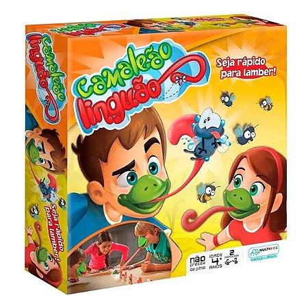 Brinquedo Infantil Jogo Camaleão Linguão - Multikids BR426