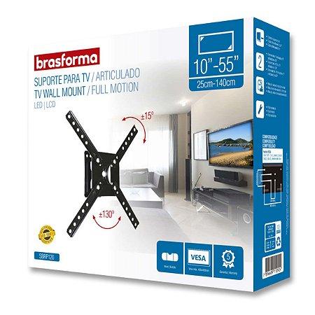 Suporte Articulado TV LED / LCD – 10 a 55 Polegadas - Brasforma SBRP120