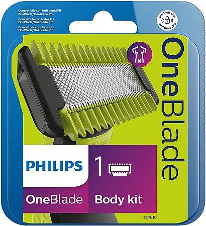 Kit Lâminas Oneblade Rosto E Corpo Philips QP610/50