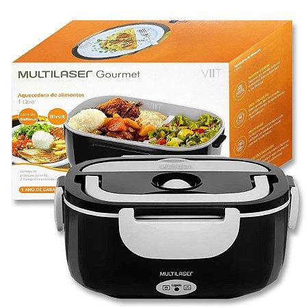Marmita Elétrica Aquecedora de Alimentos Bivolt - Multilaser Gourmet CE071