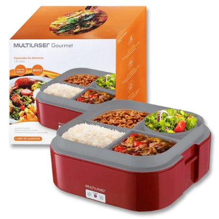 Marmita Elétrica Aquecedora de Alimentos Bivolt Multilaser Gourmet CE136