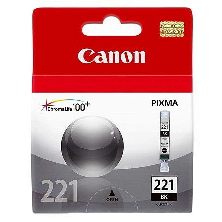 Cartucho Canon Original CLI-221 Preto 9ml