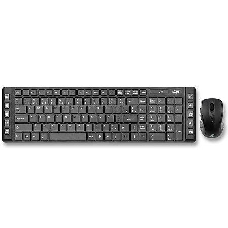 Kit Teclado E Mouse Sem Fio – C3Tech K-W50