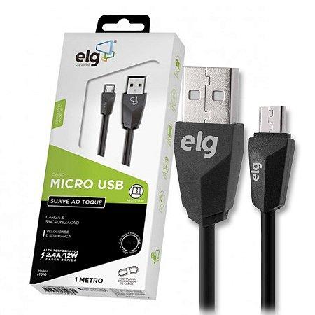 Cabo Micro USB Carga e Sincronização – ELG M510