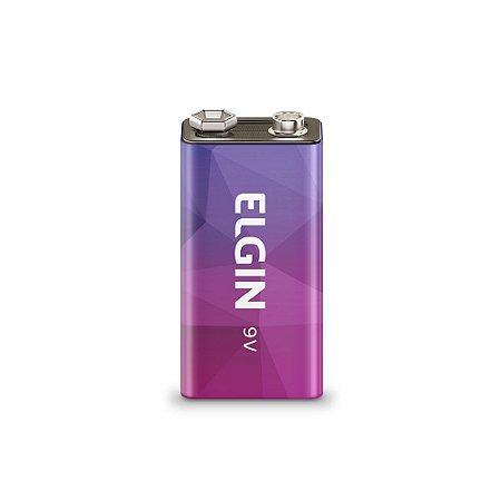 Bateria Elgin Recarregável 9v 250mah 82215
