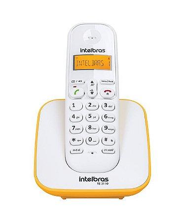 Telefone sem Fio Intelbras TS 3110 - Com Identificador de Chamadas