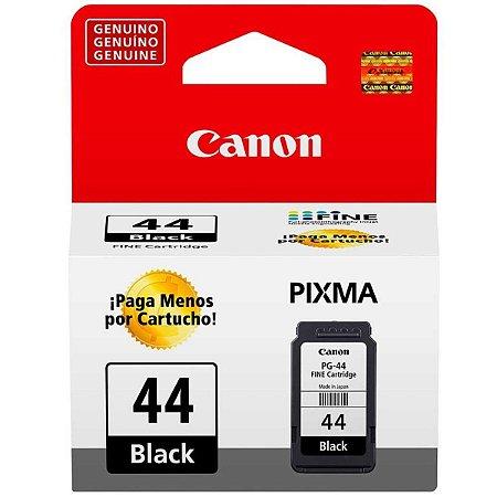 Cartucho de Tinta Original Canon Pg 44 Preto 5,6ml pg44 | E461, E471, E481, E4210