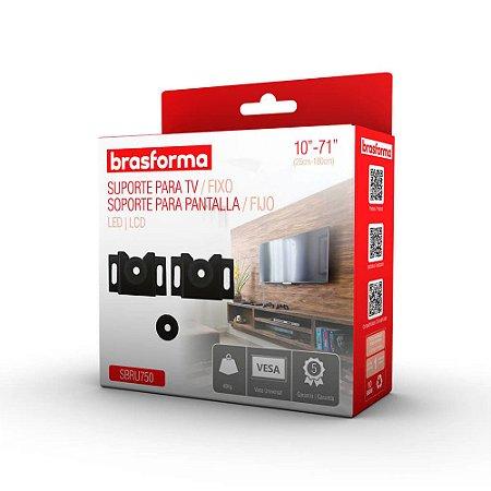 Suporte Tv Universal 10 a 71 polegadas Led Lcd Plasma - Brasforma Sbru750