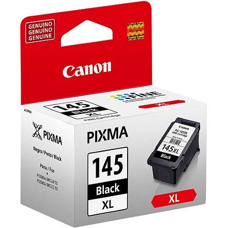 CARTUCHO DE TINTA CANON PG 145 XL 12ML PRETO ORIGINAL
