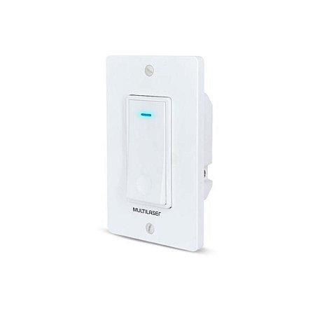 Interruptor Inteligente  Wi-Fi - Multilaser Liv - Apagador SE235 - Bivolt