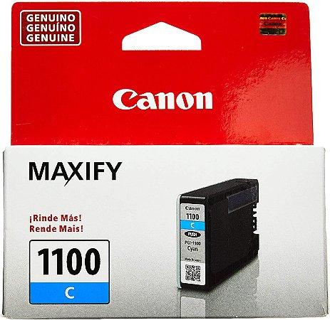 Cartucho De Tinta Original Canon Pgi 1100 4,5ml Ciano MB2010 Mb2110 Mb2710