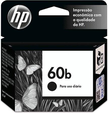 Cartucho Hp 60b Cc636wb 4,5ml Preto