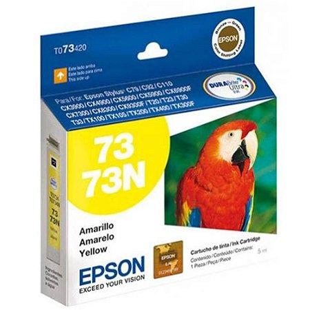 Cartucho de Tinta Epson 73 T073420 5ml Original T073 - Amarelo