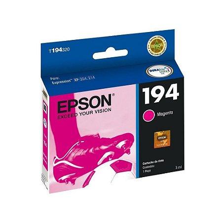 Cartucho de Tinta Epson 194 T194320 3ml Original T194 - Magenta