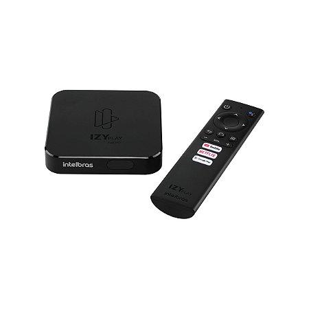 Smart Box Intelbras Izy Play Full Hd 8gb Preto Memória Ram 1gb - 4143010