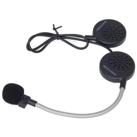 Fone De Capacete Bluetooth Headset Intercomunicador Handsfree Multilaser Mt603
