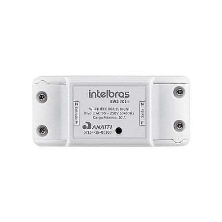 Controlador Wi-Fi Smart Interruptor Inteligente Sem Fio Para Ambientes EWS201E - Intelbras