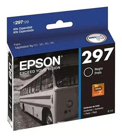 Cartucho Epson 297 T297 8ml Preto
