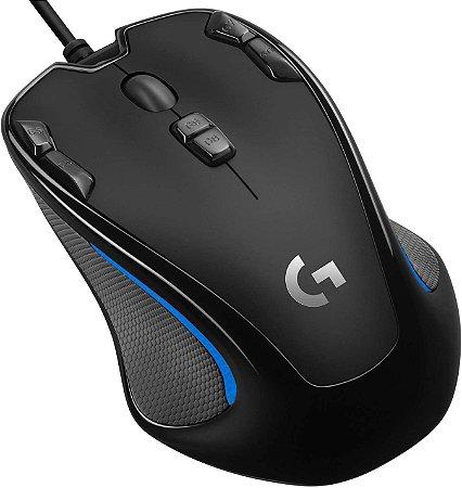 Mouse Gamer Logitech G300s - Preto