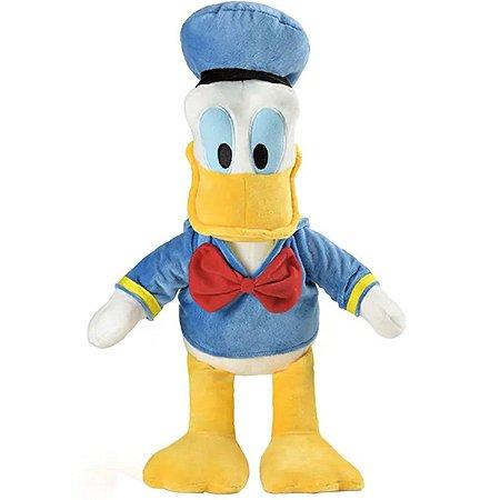 Pelúcia Disney Pato Donald 33cm com som – Turma do Mickey BR334 Multikids