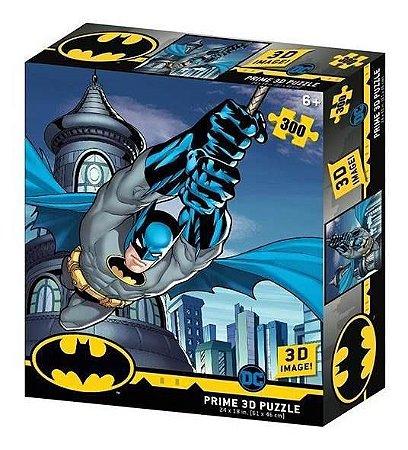 Quebra Cabeça 3D Batman 300 peças – Prime 3D Puzzle Multikids BR1321
