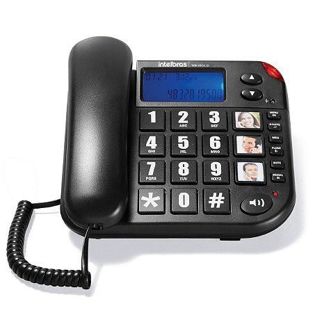 Telefone Intelbras Com Fio - Tok Fácil ID