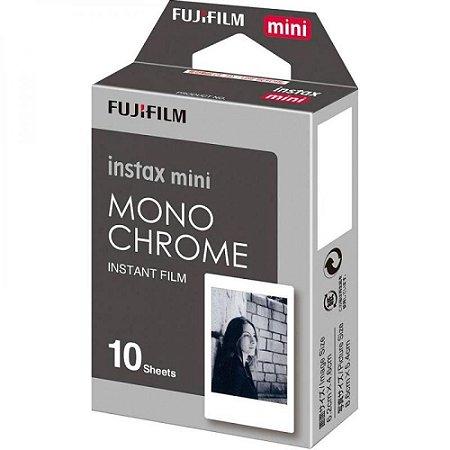Filme Instantâneo Instax Mini Mono Chrome 10 Fotos Fujifilm