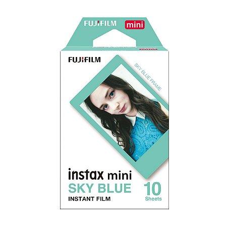 Filme Instantâneo Instax Mini Sky Blue 10 Fotos - Fujifilm