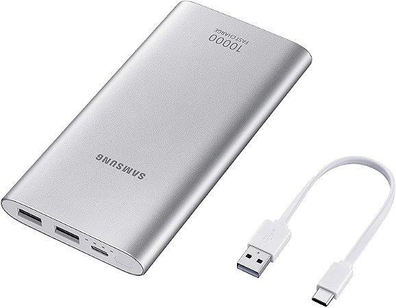 Bateria Externa Samsung carga rápida 10.000mAh USB Tipo C