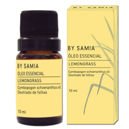 Óleo Essencial Lemongrass - By Samia - 10ml