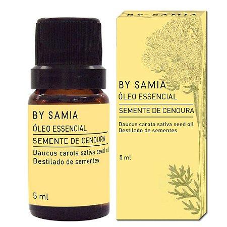 Óleo Essencial Semente de Cenoura - By Samia - 05 ml