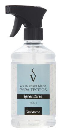 Água Perfumada para Tecidos Via Aroma 500 ml - Lavanderia